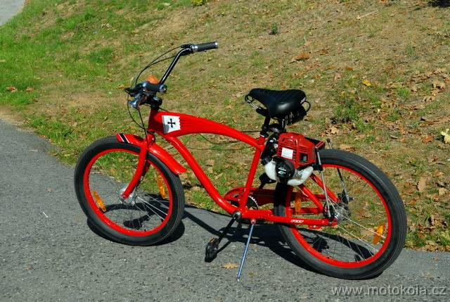 CRUISER FELT RED BARON 01